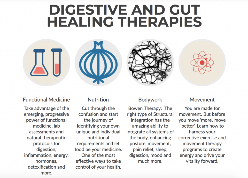 Gut healing therapies
