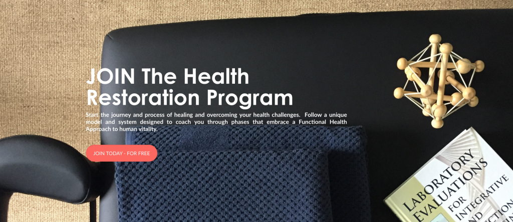 Join the Health Restoration Program