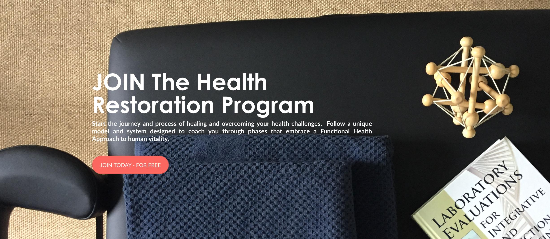 Join the Health Restoration Program